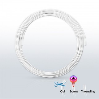 Flexible 50 mm PTFE wire for piercings