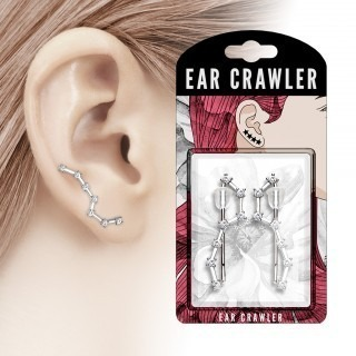 Pair ear crawlers with the big dipper