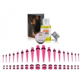 Ear stretching kit up to 10 mm