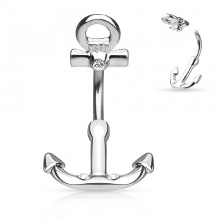 Anchor Navel piercing