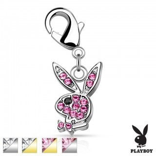 Dangle with gems in Playboy bunny