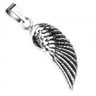 Pendant with Angel Wing