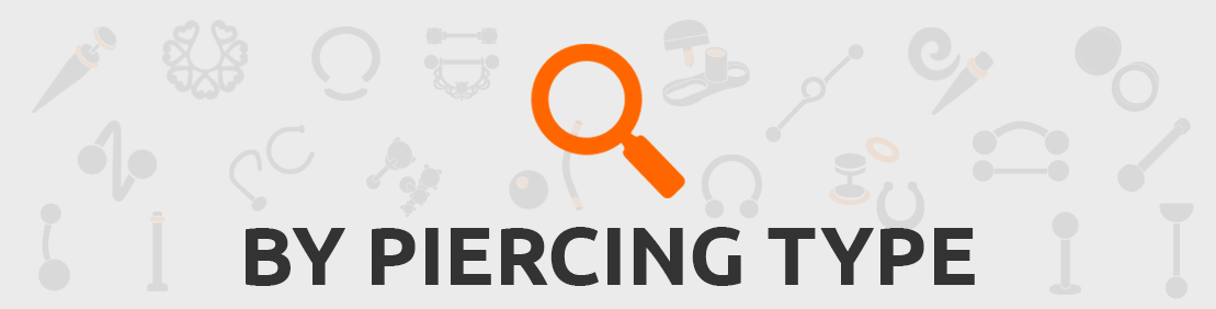 Search piercings by type