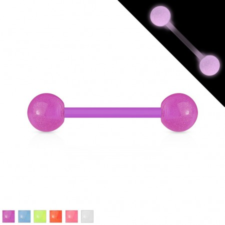 Glow in the dark bioflex barbells