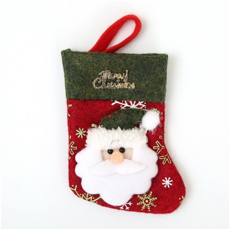 Santa Christmas Stocking to fill with your gifts