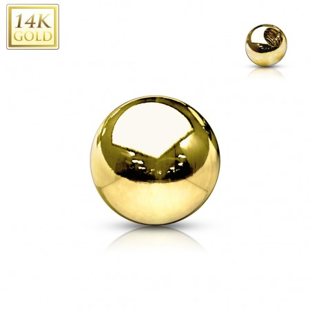 14 Kt. gold screwballs
