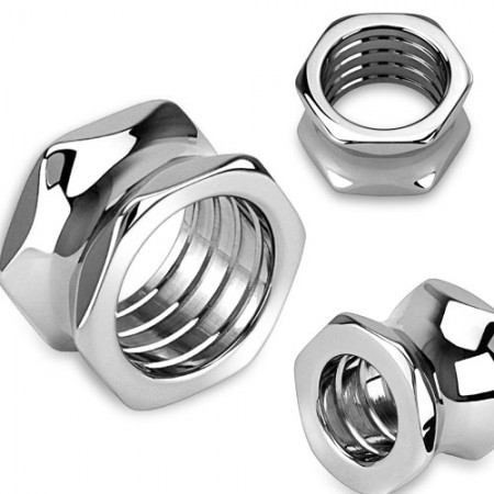 Hexagon bolt screw hollow saddle-fit tunnel piercing