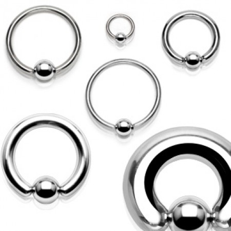 Basic ball closure ring