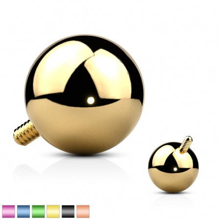 Steel alloy dermal ball