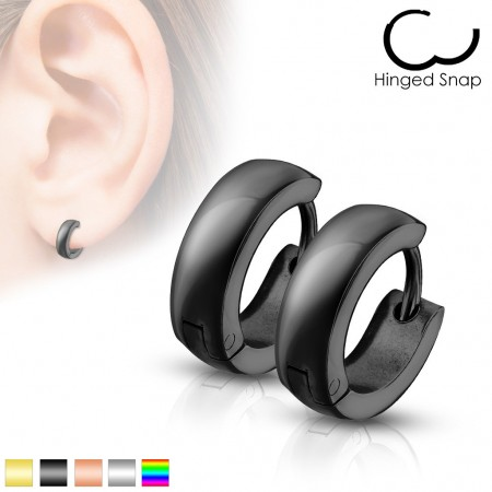 Pair of basic ear hoops