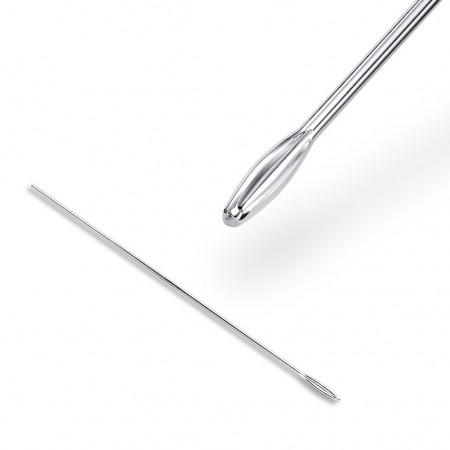 Assisent tool for placing dermal anchors