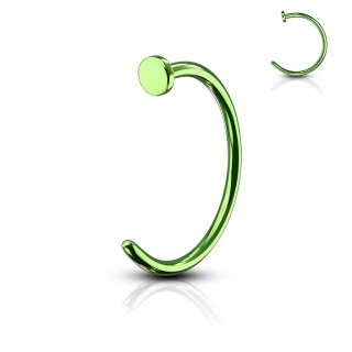 Coloured alloyed nose ring