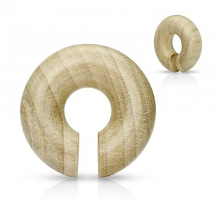Organic taper made from Crocodile Wood
