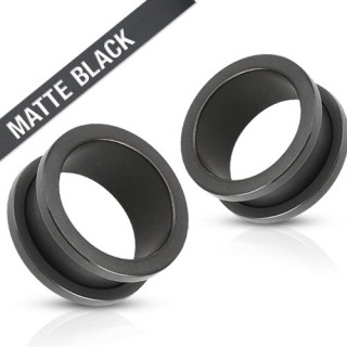 Black coloured screw fit tunnel