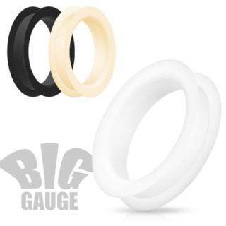 Big flexible silicone tunnels in various colours