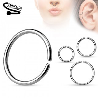 Basic multifunctional piercing ring
