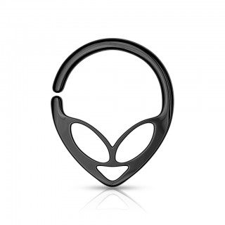 Coloured bendable multipurpose alien hoop ring