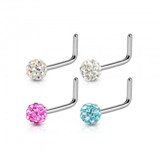 Ferido topped nose stud multipack - 4 pieces