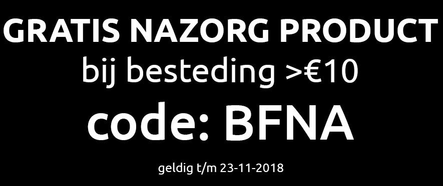 Gratis Nazorg product > 10€