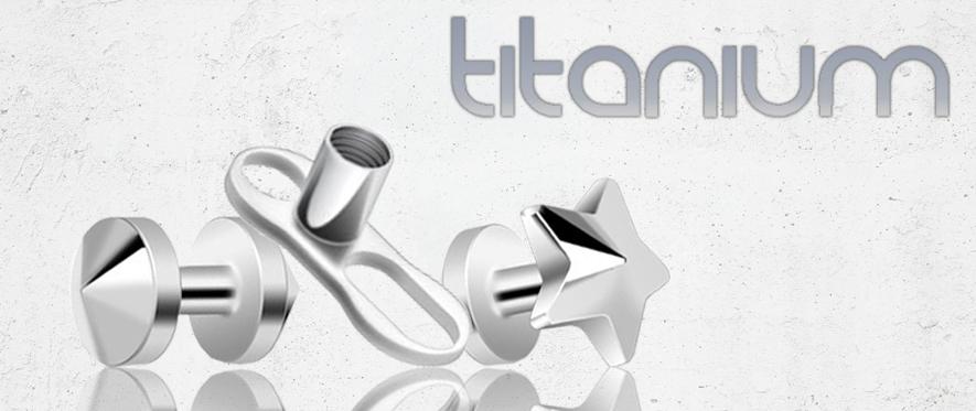 Titanium Dermal Jewellery