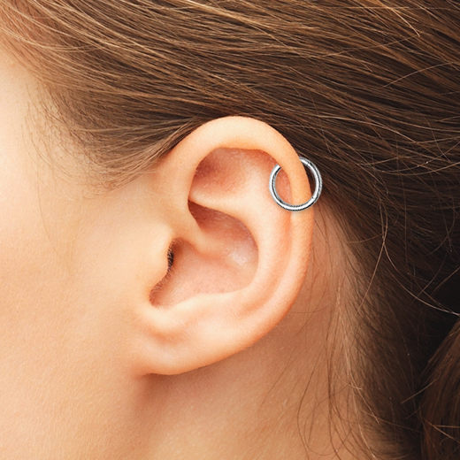 Cartilage Hoop and Ring Jewellery