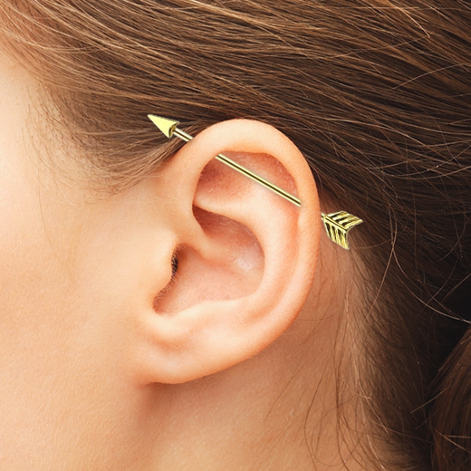 The Ultimate Guide To Industrial Piercings