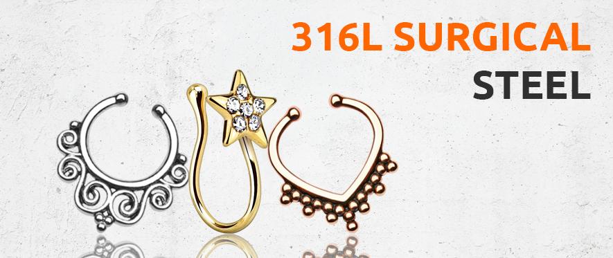 Fake Steel Jewellery