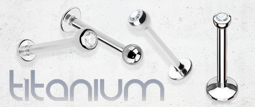 Titanium Labret Jewellery
