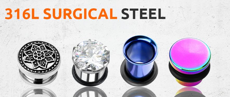 Surgical Steel Plug Jewellery