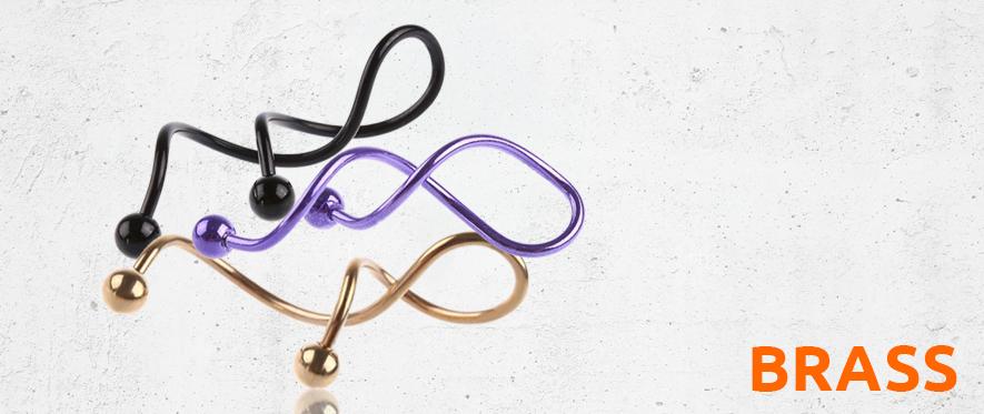 Brass Twister Jewellery